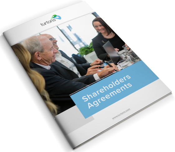 Shareholders agreement cover