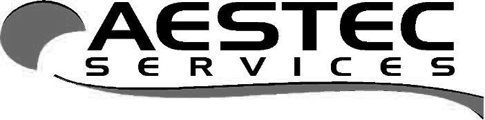 Aestec logo Grayscale
